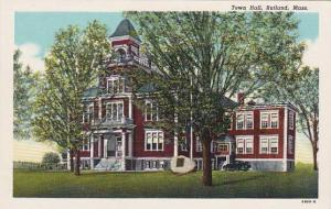 Massachusetts Rutland Town Hall
