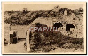 Old Postcard Fort Tavannes Army