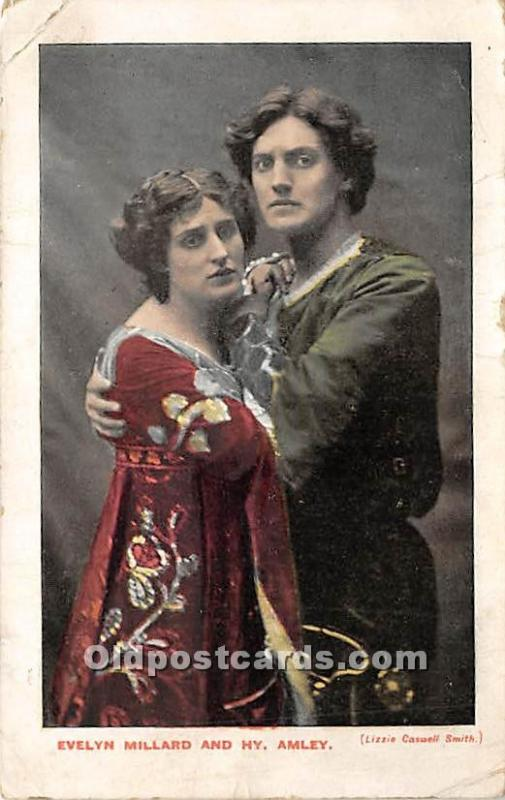 Evelyn Millard and HY Amley Theater Actor / Actress 1905