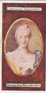 Players Vintage Cigarette Card Miniatures No 3 Portrait Of A Young Woman  1923