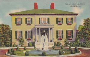 Virginia Richmond The Governor's Mansion 1941