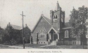 TELFORD , Pennsylvania , 00-10s :  St. Paul's Lutheran Church