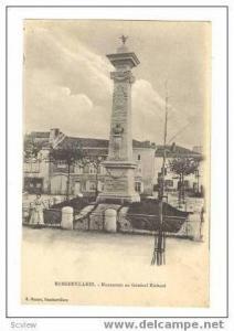 RAMERVILLERS, France, 00-10s Monument au General Richard