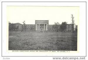 Southern Presbyterian College, Red Springs, North Carolina, 20-40s