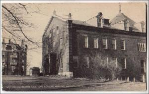 West Hall & Packard Hall, Tufts College, Medford MA