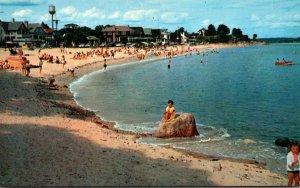 Connecticut Niantic Crescent Beach 1957