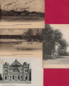 Lot of 4 Pennsylvania PA Postcards - HL-04