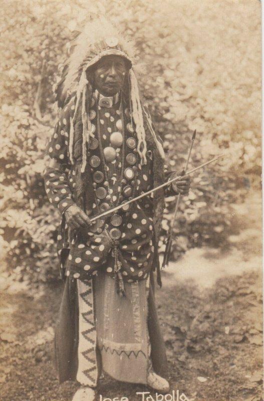 RP: Indian Jose Tapolla , MANITOU , Colorado , 1910s