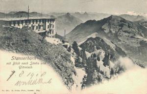 Switzerland - Stanserhorn mit Blick nach Säntis und Glärnisch 02.94