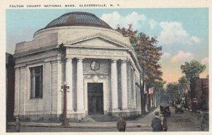 GLOVERSVILLE , New York , 00-10s ; Fulton County National Bank