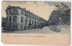 Gruss aus dem Hotel Allee-Saal, Bad Langenschwalbach
