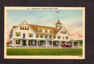 MA Tower Hotel Mass Massachusetts Postcard Cape Cod PC