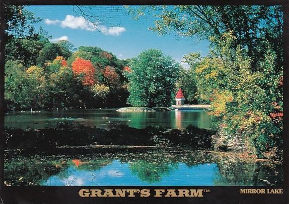 Grant's Farm Mirror Lake Estate Of August A Busch Jr St Louis Missouri