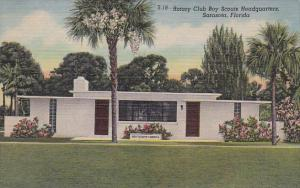 Rotary Club Boy Scouts Headquarters Sarasota Florida Curteich