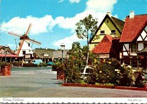 California Solvang Main Street Copenhagen Drive