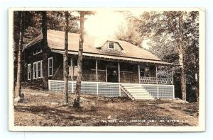 Postcard NH North Button Albany The Mess Hall Penacook Camp RPPC Real Photo G07