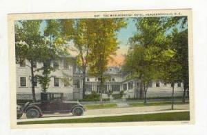 The Marlborough Hotel, Hendersonville, North Carolina, 1930-40s