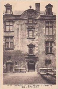 France Bourges Hotel Lallemant Facade Est