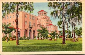Florida Sebring Harder Hall On Rex Beach Lake Curteich