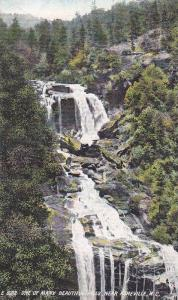 Scenic View, One of Many Beautiful Watterfalls, Near Asheville, North Carolin...