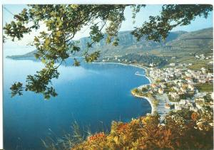 Italy, Garda, Panorama del golfo e Punta S. Vigilio, 1979 used Postcard