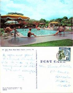 Pool, Manor House Hotel, Kingston, Jamaica, The W. I.