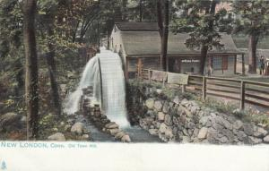 TUCK # 2254, NEW LONDON, Connecticut, 1901-07; Old Town Mill