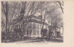 New York Canastota High School Albertype