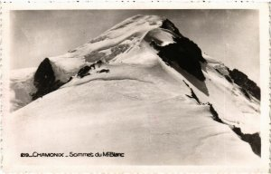 CPA CHAMONIX - Sommet du Mt-Blanc (248185)