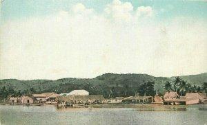 South Pacific C-1910 US Naval Landing Guam Bardell Process Postcard 21-5920
