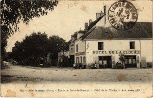 CPA Bletterans- Route de Lons le Saunier,HOtel de la Cloche FRANCE- (1044322)