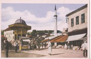 B80801  bascarsija   sarajevo  bosnia  front/back image