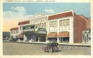 Lynbrook Theatre, Five Corners Lynbrook, Long Island Postcard Post Cards Old ...