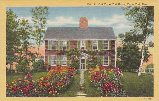 An Old Cape Cod Home Cape Cod Massachusetts