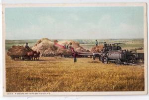 A Western Threshing Machine