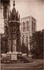 Central Tower,York Minster,York,England,UK