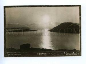 196391 NORWAY Midnatsolen Vintage photo