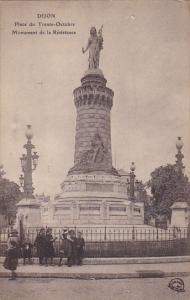 France Dijon Place du Trente Octobre Monument de la Resistance