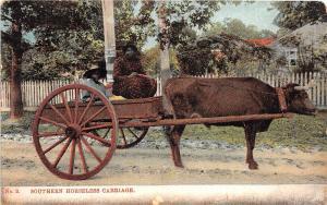 E25/ Black Americana Postcard c1908 Chattanooga Tenn Woman Horseless Carriage 5