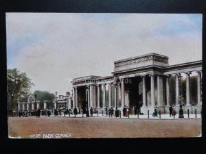 London: Hude Park Corner c1905 (PM) EAST DULWICH cds QUEEN VICTORIA 1d Stamp