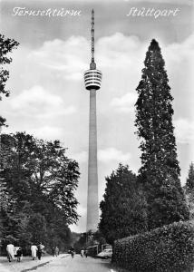 Stuettgart Degerloch Fernsehturm Tower Auto Cars