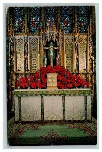 Vintage 1960's Postcard The High Altar St. Paul's Episcopal Church Washington DC