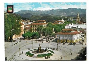 Spain Granada Puerta Real Sierra Nevada Vtg 4X6 Postcard