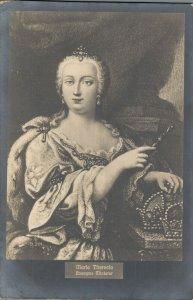 Empress Maria Theresia Anonyme Minafur Austria RPPC 06.81