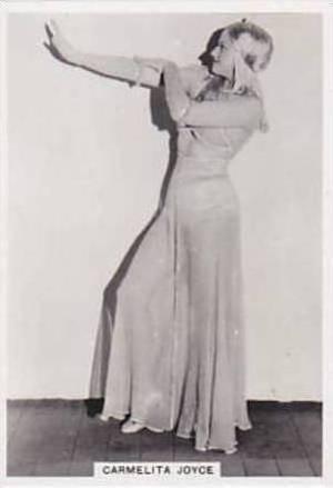 Ardath Vintage Cigarette Card Photocards Group L 1939 Carmelita Joyce