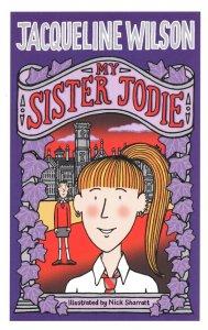Jacqueline Wilson My Sister Jodie Childrens Book Postcard