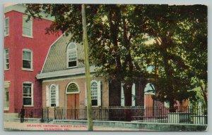 Wilmington Delaware~Historical Society Building~c1910 Postcard
