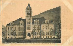 MT, Missoula, Montana University Hall, Missoula Drug Company