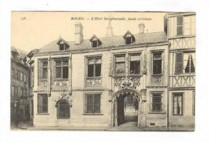 L´Hotel Bourgtheroulde, Facade Exterieure, Rouen (Seine Maritime), France, 1...