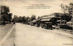 CPA A L'Orée de la Foret de RAMBOUILLET - Le PERRAY - La Foret Verte (102737)